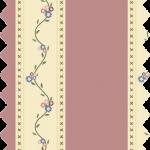 tissu gutermann coloris rayé beige et rose