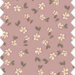 tissu gutermann fleurs roses