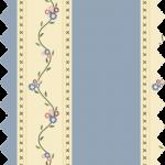 tissu gutermann rayé écru et bleu