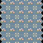 tissu gutermann losanges bleus