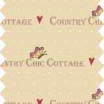 tissu gutermann cottage chic collection