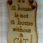 Bouton A h house Cat 5.00€