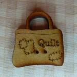 Bouton Bag Quilt 4.50€