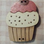 Bouton Cupcake Grand 5.50€ petit 4.50€