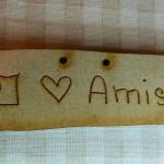 Bouton I love Amish 4.50€