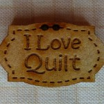 Bouton I love Quilt 4.0€