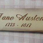 Bouton jane Austen 5.00€