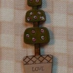 Bouton topiaire Love garden 7.50€
