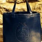 Lizzy bag petit modèle bleu marine : 88 €