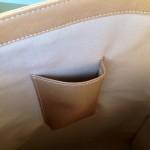 Pochette téléphone intérieure du grand Lizzy bag de born to quilt